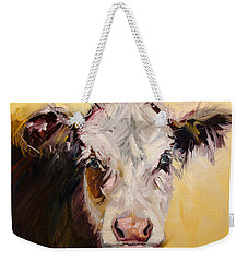 Bed Head Cow Weekender Tote Bag