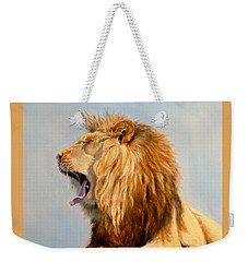 Bed Head - Lion Weekender Tote Bag
