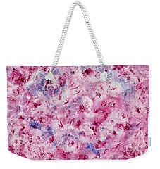 Bed Of Roses Weekender Tote Bag by Joan Hartenstein