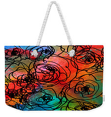 Bed Of Roses Weekender Tote Bag