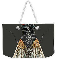 Bedazzled Housefly Transparent Background Weekender Tote Bag