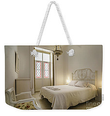 Weekender Tote Bag featuring the photograph Bedroom Apartment In The Heart Of Cadiz by Pablo Avanzini