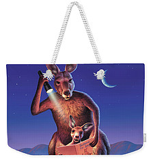 Bedtime For Joey Weekender Tote Bag by Jerry LoFaro
