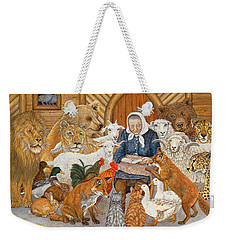 Bedtime Story On The Ark Weekender Tote Bag by Ditz