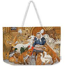 Bedtime Story On The Ark Weekender Tote Bag by Ditz