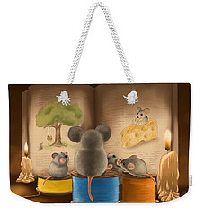 Bedtime Story Weekender Tote Bag by Veronica Minozzi