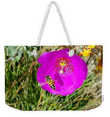 Bee And Flower  Weekender Tote Bag