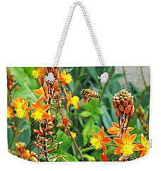 Bee And Flowers Perfect Match Weekender Tote Bag