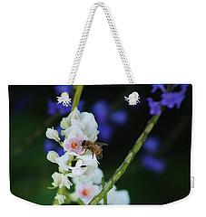 Bee And Wild Flowers Weekender Tote Bag by Craig Wood