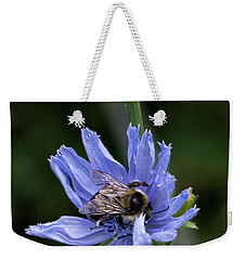 Bee Flower Weekender Tote Bag by Nikki McInnes