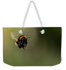 Bee Flying - View From Front Weekender Tote Bag