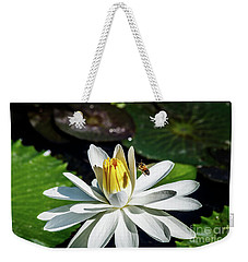 Bee In A Flower Weekender Tote Bag