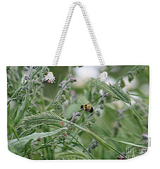 Bee In Flight Weekender Tote Bag