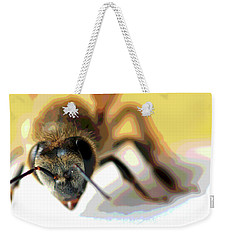 Bee In Macro 5 Weekender Tote Bag