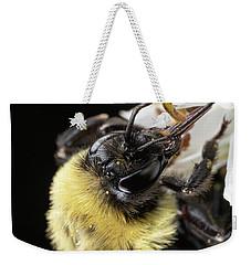 Bee Macro 1 Weekender Tote Bag