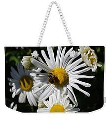 Bee On Flower 1 Weekender Tote Bag