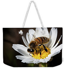 Bee On The Flower Weekender Tote Bag