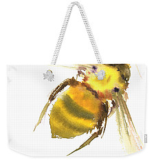Bee Weekender Tote Bag by Suren Nersisyan