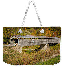 Beech Fork Or Mooresville Covered Bridge Weekender Tote Bag
