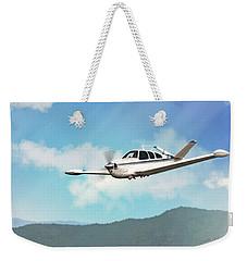 Beechcraft Bonanza V Tail Weekender Tote Bag