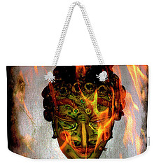 Weekender Tote Bag featuring the photograph Beelzebub Iv by Al Bourassa