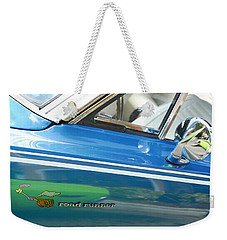 Beep Beep Hot Rod Weekender Tote Bag