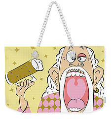 Beer King Weekender Tote Bag