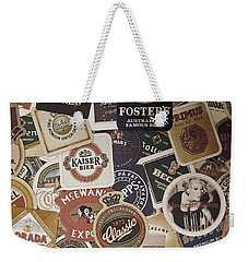 Beers Of The World Weekender Tote Bag by Nicklas Gustafsson