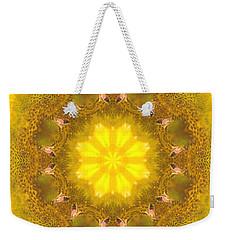 Bees Kaleidoscope Weekender Tote Bag