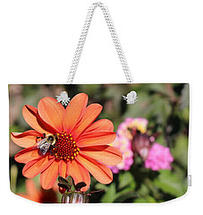Bees-y Day Weekender Tote Bag by Jason Nicholas