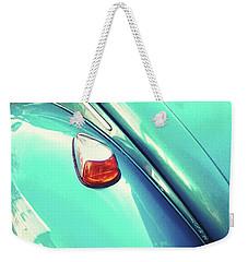 Beetle Blue Weekender Tote Bag by Rebecca Harman