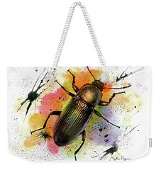 Beetle Illustration Weekender Tote Bag