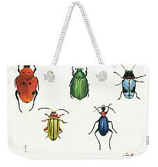 Beetles Weekender Tote Bag
