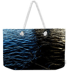 Weekender Tote Bag featuring the photograph Befallen by Eric Christopher Jackson