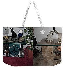 Before And After Weekender Tote Bag