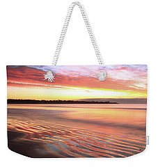 Before Sunrise At First Beach Weekender Tote Bag by Roupen  Baker