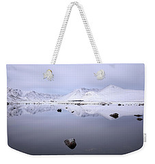 Weekender Tote Bag featuring the photograph Before Sunrise, Glencoe by Grant Glendinning
