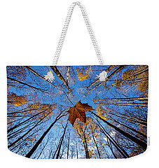 Weekender Tote Bag featuring the photograph Before The First Snow by Mircea Costina Photography