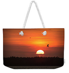 Before The Setting Sun Weekender Tote Bag