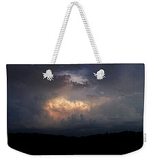 Before The Storm Weekender Tote Bag by Cynthia Lassiter