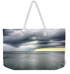Weekender Tote Bag featuring the photograph Before The Storm by Ricky L Jones