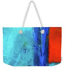Weekender Tote Bag featuring the painting Before The Wedding by Nancy Merkle