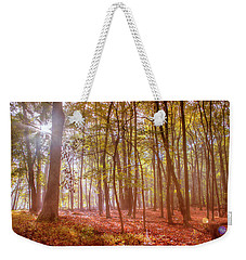 Beginning Of Fall Weekender Tote Bag by Rima Biswas