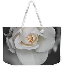 Weekender Tote Bag featuring the photograph Beginnings by Marie Neder