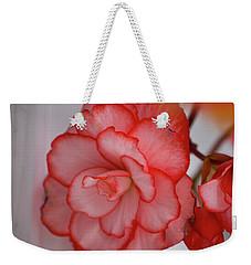 Begonia Beauty Weekender Tote Bag