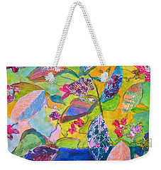 Begonias Weekender Tote Bag