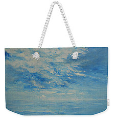 Behind All Clouds Weekender Tote Bag