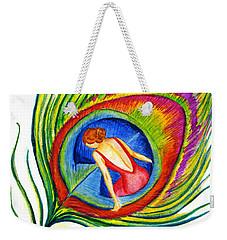 Behind Blue Eyes Weekender Tote Bag