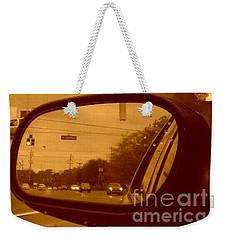 Behind Me Weekender Tote Bag