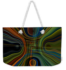 Behind The Drapes 3 Weekender Tote Bag by Thibault Toussaint